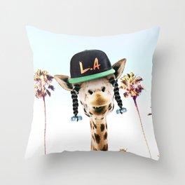 GIRO FLOW Throw Pillow