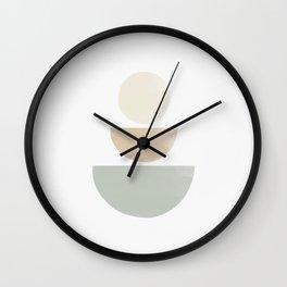 Balancing Stones #6 Wall Clock