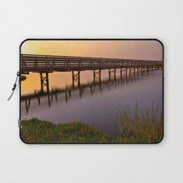 Bolsa Chica Wetlands Sunset Laptop Sleeve