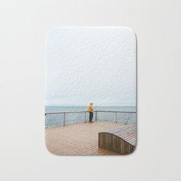 Coney Island Pier: Gone Fishing Bath Mat