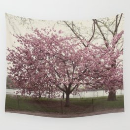 in bloom::nyc Wall Tapestry