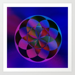 Geometric Bliss Art Print