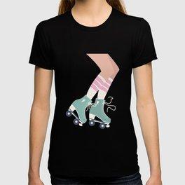 Roller skate girl 001 T-shirt