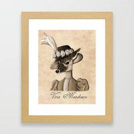 Vera Meadows Framed Art Print