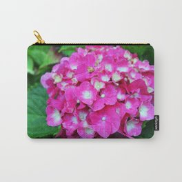 Pink Hydrangea With White Center Carry-All Pouch