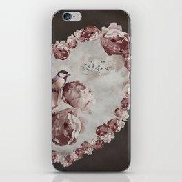 Heart of Roses iPhone Skin