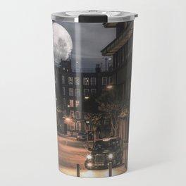 Harvest moon, London - United Kingdom Travel Mug