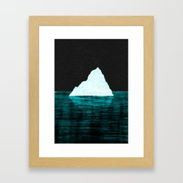 ICEBERG AHEAD! Framed Art Print