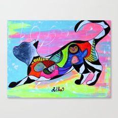 PLAYFUL WHISKERS Canvas Print