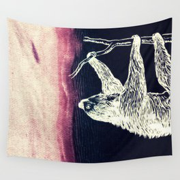 Sloth Me Over Wall Tapestry