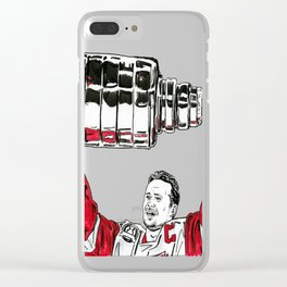 Yzerman - Cup Clear iPhone Case