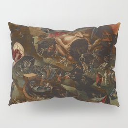 CHRIST IN LIMBO - HIERONYMUS BOSCH  Pillow Sham