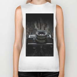 Vintage Camera Biker Tank