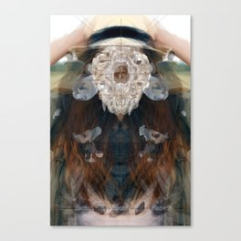 Birth//Death//Rebirth Canvas Print