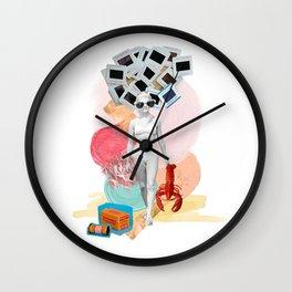 Kodachrome Beach Wall Clock