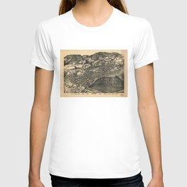 Bird's Eye View of Aspen, Colorado (1893) T-shirt