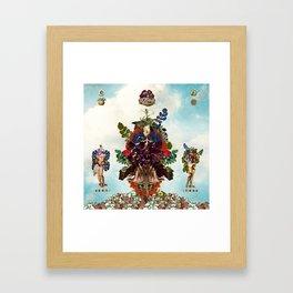 Boaz and Jachin  Framed Art Print