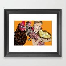 Raising an army  Framed Art Print