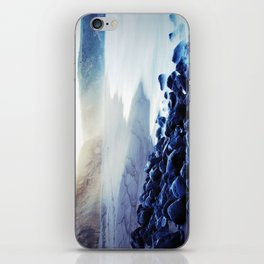 When the ocean meets the island iPhone Skin