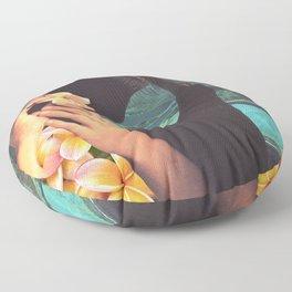 Polynesian Princess Floor Pillow
