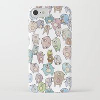 bears iPhone & iPod Cases featuring Bears by Hannah Drossman
