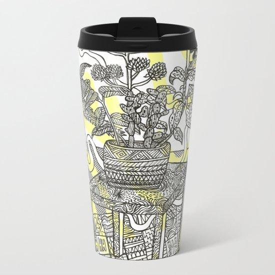 wild plants Metal Travel Mug