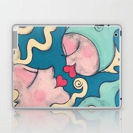fish kiss Laptop & iPad Skin