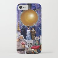 princess bride iPhone & iPod Cases featuring Bride of the Castle by Hescox