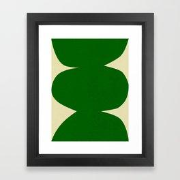 Abstract-w Framed Art Print