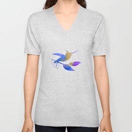 Hummingbird Unisex V-Neck