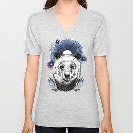 The Bear (Spirit Animal) Unisex V-Neck