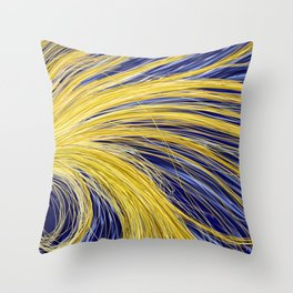 Light Burst's - Golden Light 1 Throw Pillow