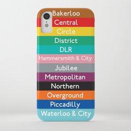 London Underground iPhone Case