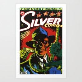 Silver Comics #6, 2006 Art Print