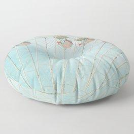 The Giant Wheel Floor Pillow
