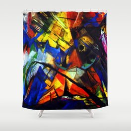 Franz Marc Tyrol Shower Curtain