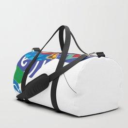 Japanese Kite and Mt.Fuji Duffle Bag