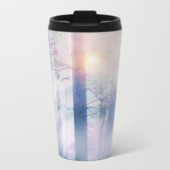 Pastel vibes 14 Metal Travel Mug