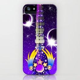 Fusion Keyblade Guitar #131 - Lunar Eclipse & Star Seeker iPhone Case