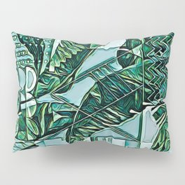 Painted Palms Vacation Mode II Pillow Sham