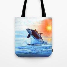 Orca Queen Tote Bag