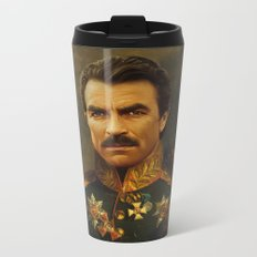 Tom Selleck - replaceface Metal Travel Mug