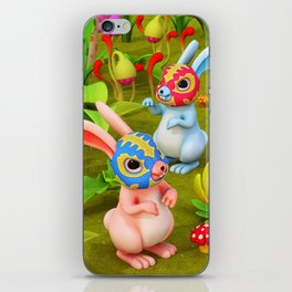 Lucha Brothers iPhone Skin