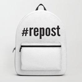 #repost Backpack