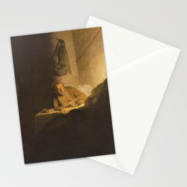 Rembrandt - The Supper at Emmaus Stationery Cards