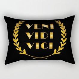 Veni Vidi Vici Rectangular Pillow