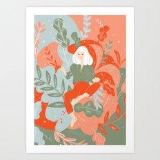 Take Me To The Wonderland Art Print