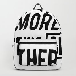 there are more than two genders man woman homo Backpack