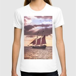 Scarlet sails T-shirt