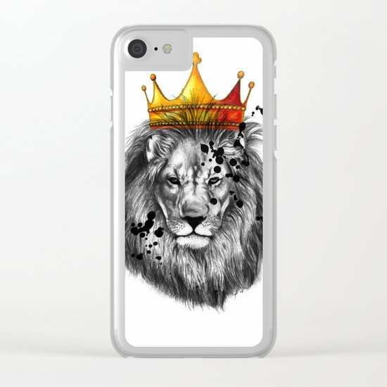lion king Clear iPhone Case